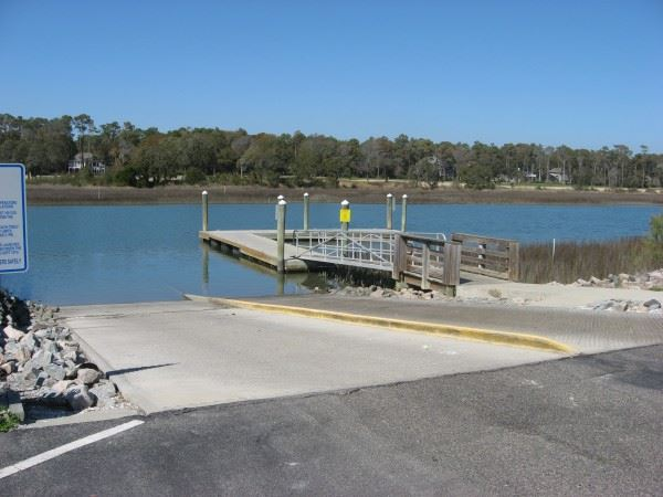 Boat Ramp by the Water