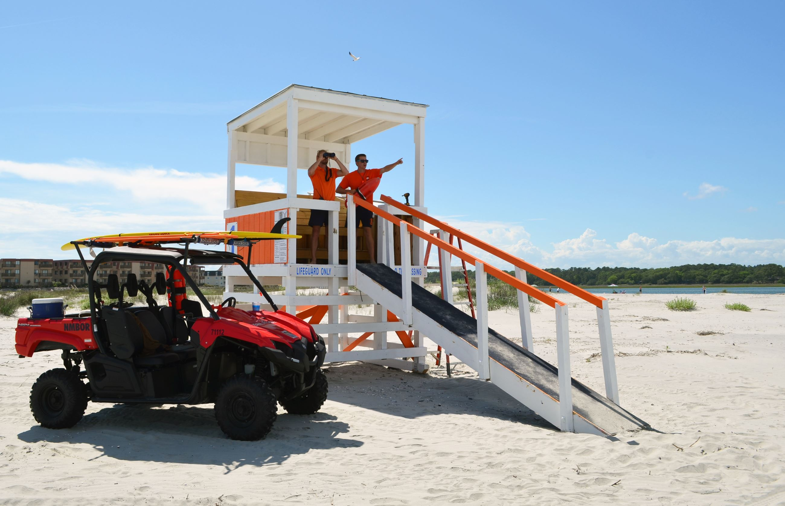 Ocean Lifeguards at the Point in Cherry Grove